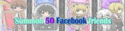 Use the shinigami power to bring 50 of your facebook friends at once