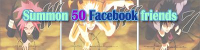 Use the summon no jutsu to bring 50 of your facebook friends at once