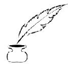 La plume de l'écrivain